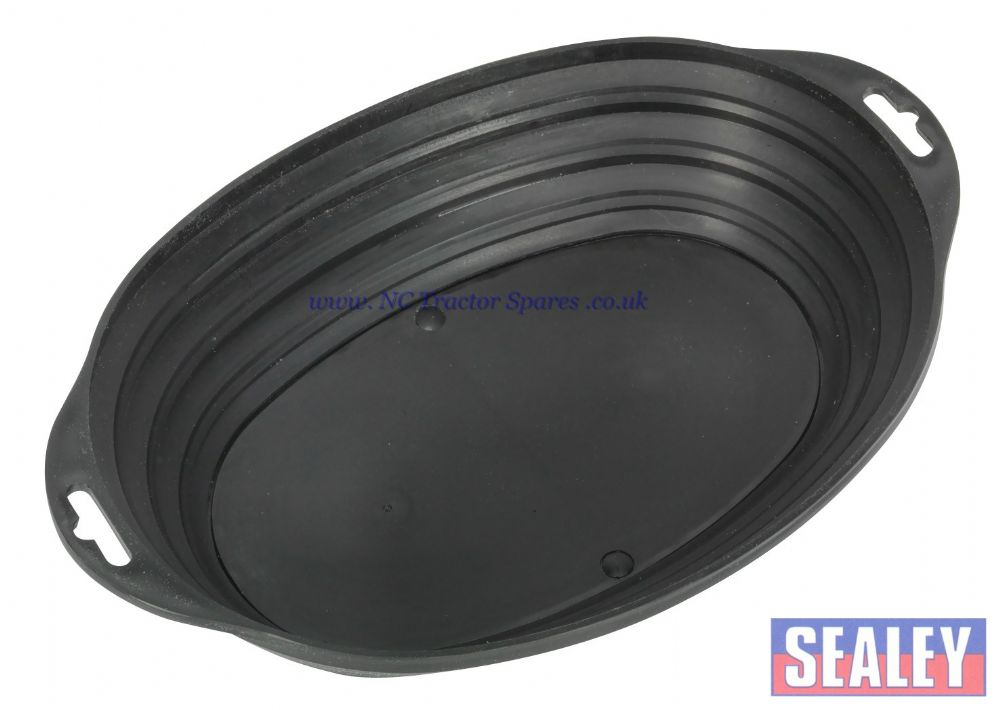 Retractable Magnetic Parts Tray Oval